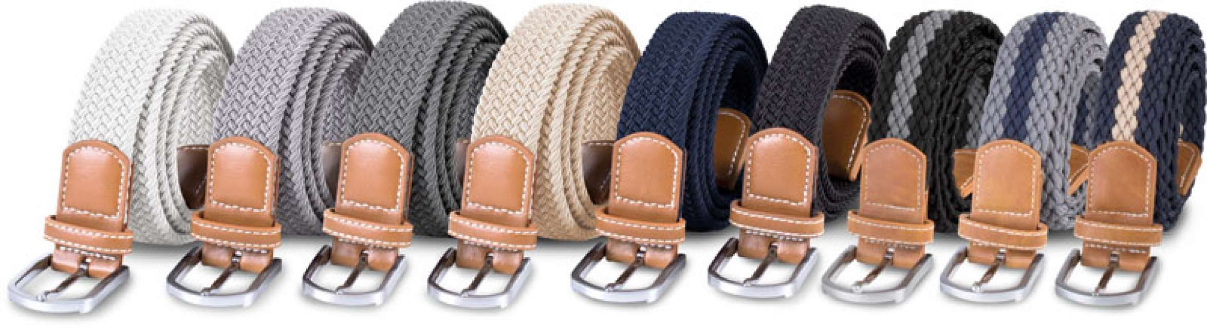BRAIDED ELASTICATED BELT